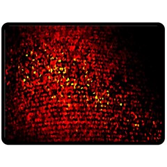Red Particles Background Double Sided Fleece Blanket (large)  by Nexatart