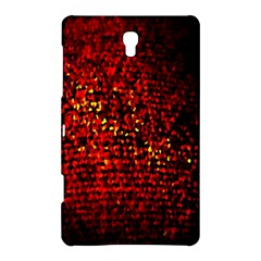 Red Particles Background Samsung Galaxy Tab S (8 4 ) Hardshell Case  by Nexatart