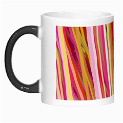 Color Ribbons Background Wallpaper Morph Mugs by Nexatart
