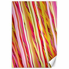 Color Ribbons Background Wallpaper Canvas 20  X 30