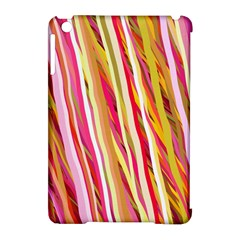 Color Ribbons Background Wallpaper Apple Ipad Mini Hardshell Case (compatible With Smart Cover)