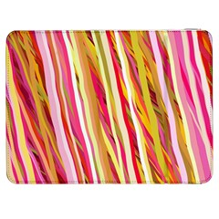 Color Ribbons Background Wallpaper Samsung Galaxy Tab 7  P1000 Flip Case by Nexatart