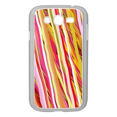 Color Ribbons Background Wallpaper Samsung Galaxy Grand Duos I9082 Case (white) by Nexatart