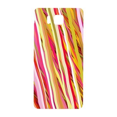 Color Ribbons Background Wallpaper Samsung Galaxy Alpha Hardshell Back Case by Nexatart