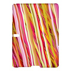 Color Ribbons Background Wallpaper Samsung Galaxy Tab S (10 5 ) Hardshell Case  by Nexatart