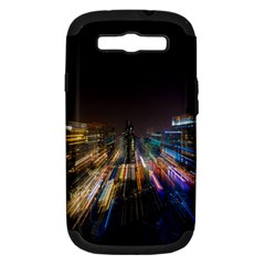Frozen In Time Samsung Galaxy S Iii Hardshell Case (pc+silicone) by Nexatart