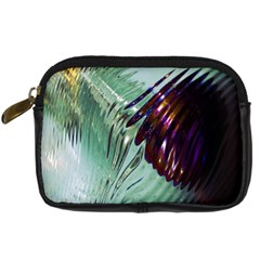 Out Of Time Glass Pearl Flowag Digital Camera Cases by Nexatart