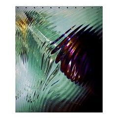 Out Of Time Glass Pearl Flowag Shower Curtain 60  X 72  (medium)  by Nexatart