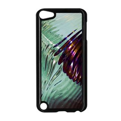 Out Of Time Glass Pearl Flowag Apple Ipod Touch 5 Case (black) by Nexatart