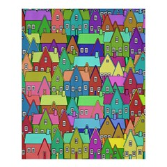 Neighborhood In Color Shower Curtain 60  X 72  (medium)  by Nexatart