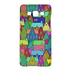 Neighborhood In Color Samsung Galaxy A5 Hardshell Case  by Nexatart