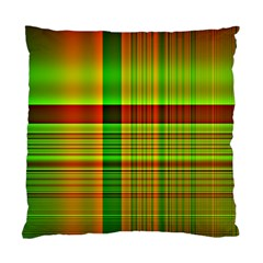 Multicoloured Background Pattern Standard Cushion Case (two Sides) by Nexatart