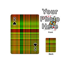Multicoloured Background Pattern Playing Cards 54 (mini)  by Nexatart