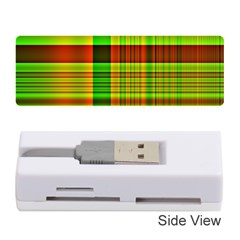 Multicoloured Background Pattern Memory Card Reader (stick)  by Nexatart