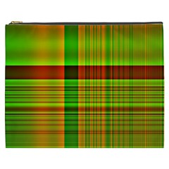 Multicoloured Background Pattern Cosmetic Bag (xxxl)  by Nexatart