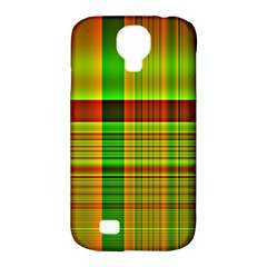 Multicoloured Background Pattern Samsung Galaxy S4 Classic Hardshell Case (pc+silicone)