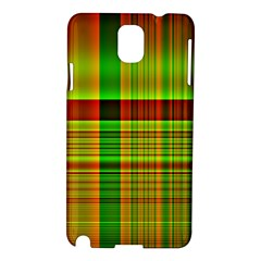 Multicoloured Background Pattern Samsung Galaxy Note 3 N9005 Hardshell Case by Nexatart