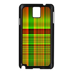 Multicoloured Background Pattern Samsung Galaxy Note 3 N9005 Case (black)