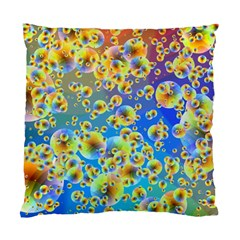Color Particle Background Standard Cushion Case (one Side) by Nexatart