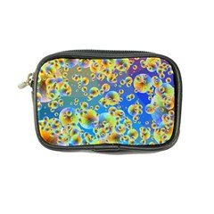 Color Particle Background Coin Purse by Nexatart