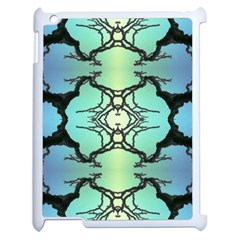 Branches With Diffuse Colour Background Apple Ipad 2 Case (white) by Nexatart