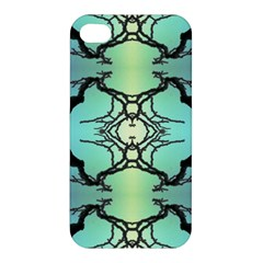 Branches With Diffuse Colour Background Apple Iphone 4/4s Premium Hardshell Case