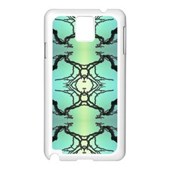 Branches With Diffuse Colour Background Samsung Galaxy Note 3 N9005 Case (white)