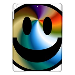 Simple Smiley In Color Ipad Air Hardshell Cases by Nexatart