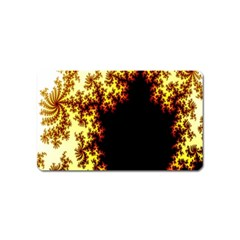 A Fractal Image Magnet (name Card) by Nexatart