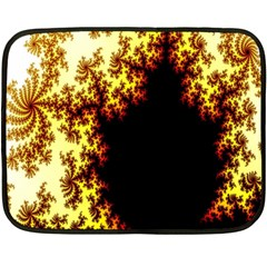 A Fractal Image Double Sided Fleece Blanket (mini)  by Nexatart