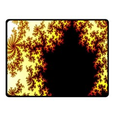 A Fractal Image Fleece Blanket (small)