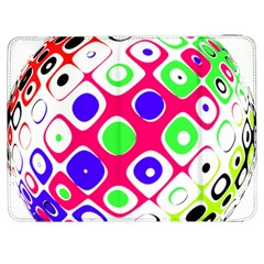 Color Ball Sphere With Color Dots Samsung Galaxy Tab 7  P1000 Flip Case