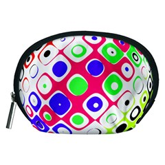 Color Ball Sphere With Color Dots Accessory Pouches (medium)  by Nexatart
