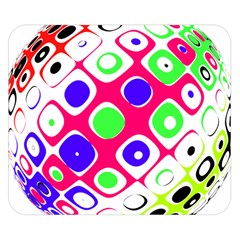 Color Ball Sphere With Color Dots Double Sided Flano Blanket (small)  by Nexatart