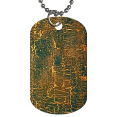 Black And Yellow Color Dog Tag (two Sides)
