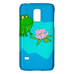 Frog Flower Lilypad Lily Pad Water Galaxy S5 Mini