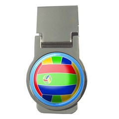 Balloon Volleyball Ball Sport Money Clips (round)