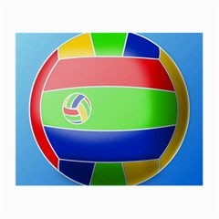 Balloon Volleyball Ball Sport Small Glasses Cloth (2 Side)