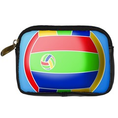Balloon Volleyball Ball Sport Digital Camera Cases by Nexatart