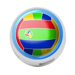 Balloon Volleyball Ball Sport 4 Port Usb Hub (one Side)