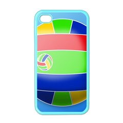 Balloon Volleyball Ball Sport Apple Iphone 4 Case (color) by Nexatart