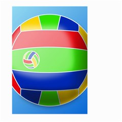 Balloon Volleyball Ball Sport Large Garden Flag (two Sides) by Nexatart