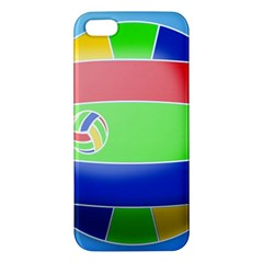 Balloon Volleyball Ball Sport Iphone 5s/ Se Premium Hardshell Case by Nexatart
