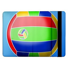 Balloon Volleyball Ball Sport Samsung Galaxy Tab Pro 12 2  Flip Case by Nexatart