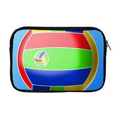 Balloon Volleyball Ball Sport Apple Macbook Pro 17  Zipper Case by Nexatart