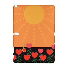 Love Heart Valentine Sun Flowers Galaxy Note 1
