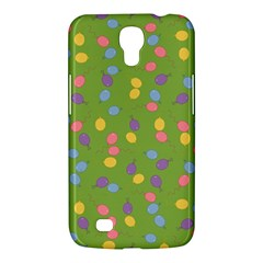 Balloon Grass Party Green Purple Samsung Galaxy Mega 6 3  I9200 Hardshell Case by Nexatart