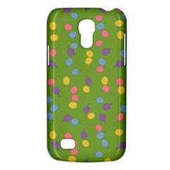 Balloon Grass Party Green Purple Galaxy S4 Mini by Nexatart