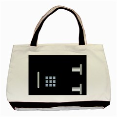 Safe Vault Strong Box Lock Safety Basic Tote Bag by Nexatart