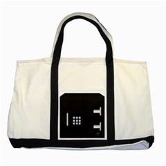 Safe Vault Strong Box Lock Safety Two Tone Tote Bag by Nexatart